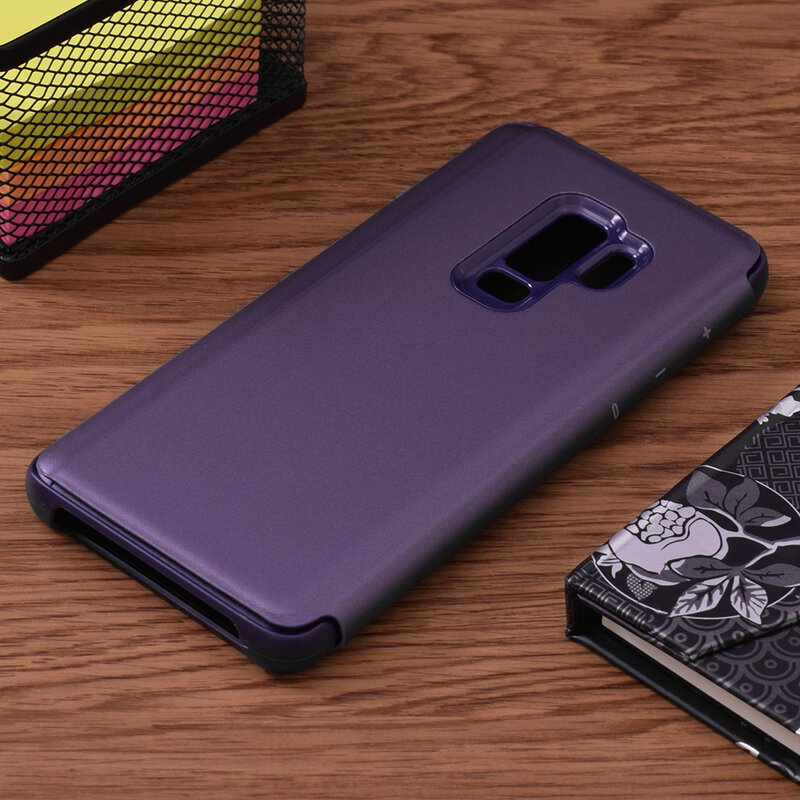 Husa Samsung Galaxy S9 Plus Flip Standing Cover - Purple
