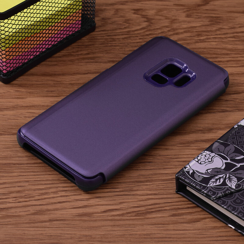 Husa Samsung Galaxy S9 Flip Standing Cover - Purple
