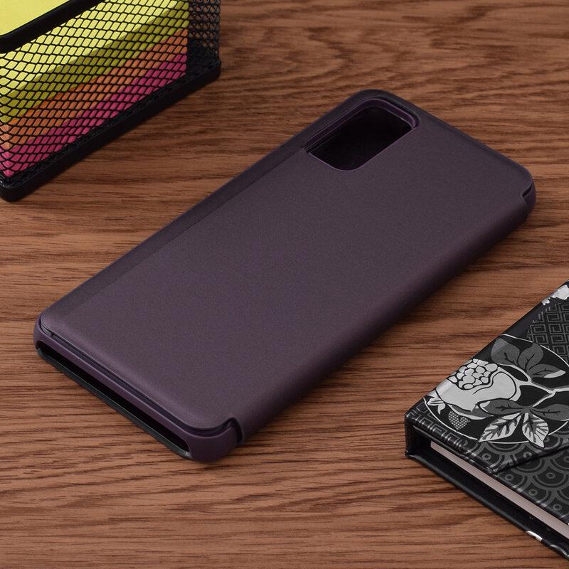 Husa Samsung Galaxy S20 5G Flip Standing Cover - Purple