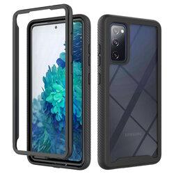 [Pachet 360°] Husa + Folie Samsung Galaxy A02s Techsuit Defense, Negru