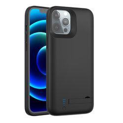 Husa cu baterie iPhone 12 Pro Max Techsuit Power Pro, 6000mAh, negru