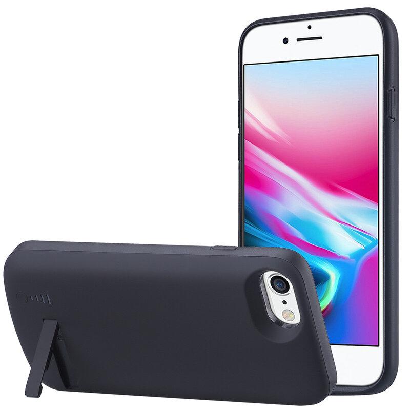 Husa cu baterie iPhone 8 Techsuit Power Pro, 5500mAh, negru