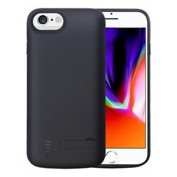 Husa cu baterie iPhone SE 2, SE 2020 Techsuit Power Pro, 5500mAh, negru