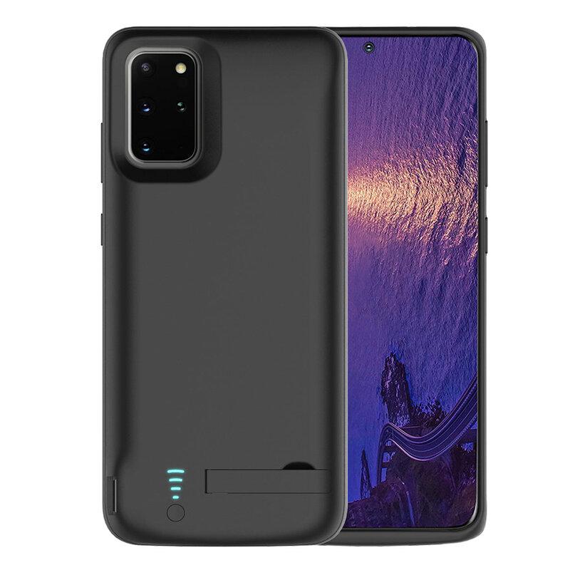 Husa cu baterie Samsung Galaxy S20 Plus 5G Techsuit Power Pro, 6000mAh, negru