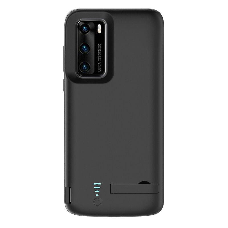 Husa cu baterie Huawei P40 Pro Techsuit Power Pro, 4800mAh, negru