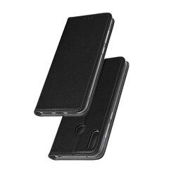 Husa Smart Book Huawei Y7 2019 Flip Negru
