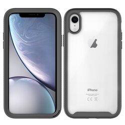 [Pachet 360°] Husa + Folie iPhone XR Techsuit Defense, Negru
