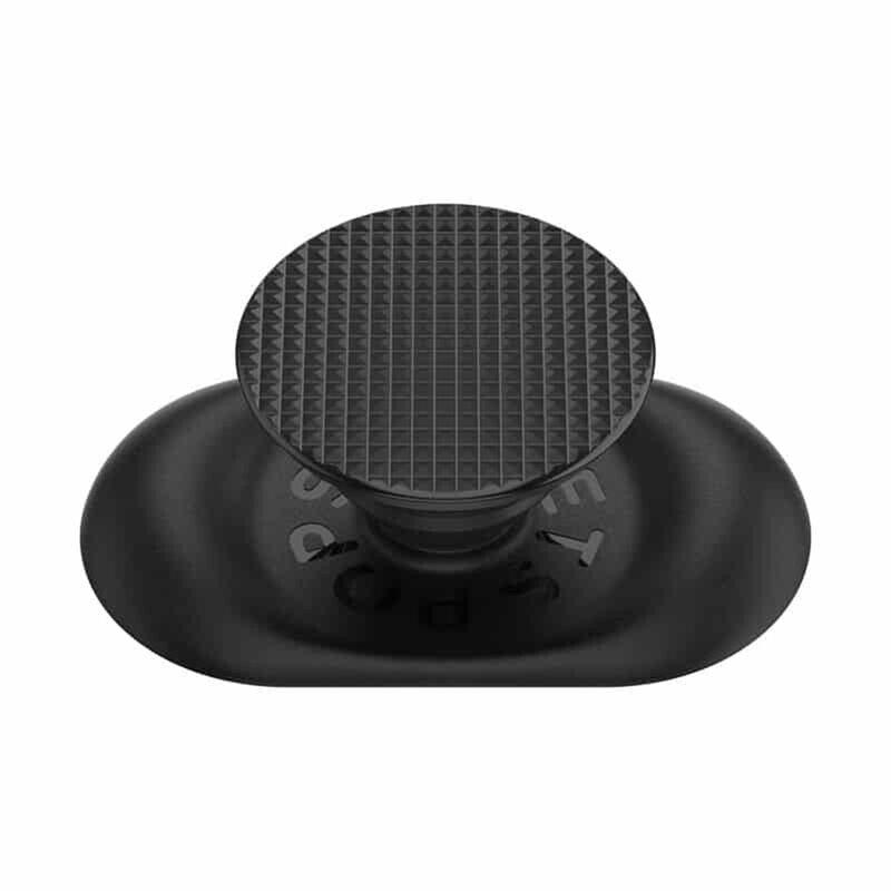 Popsockets Original, Suport Cu Functii Multiple, Pocketable Knurled Black
