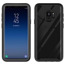 [Pachet 360°] Husa + Folie Samsung Galaxy S9 Techsuit Defense, Negru