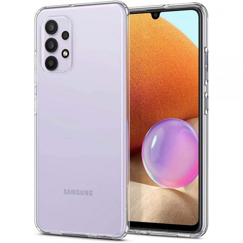 Husa Samsung Galaxy A32 4G Spigen Liquid Crystal - Clear