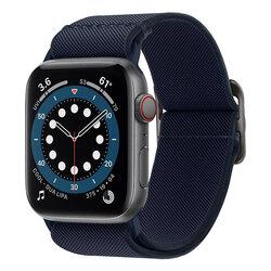 Curea Apple Watch 6 44mm Spigen Lite Fit, Bleumarin