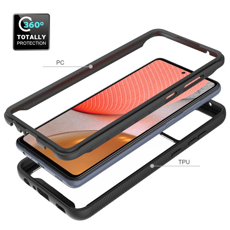 [Pachet 360°] Husa + Folie Samsung Galaxy S20 Plus Techsuit Defense, Negru
