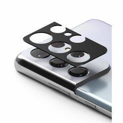 Folie Obiectiv Samsung Galaxy S21 Ultra 5G Ringke Camera Styling Din Otel Inoxidabil - Negru