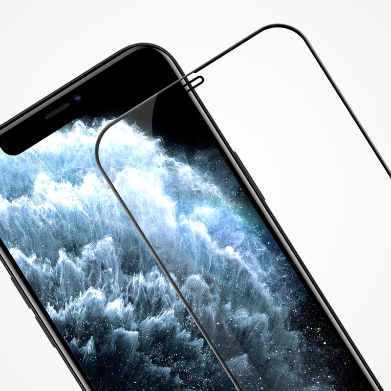 Folie sticla iPhone 12 Pro Max Nillkin Amazing CP+PRO, Negru