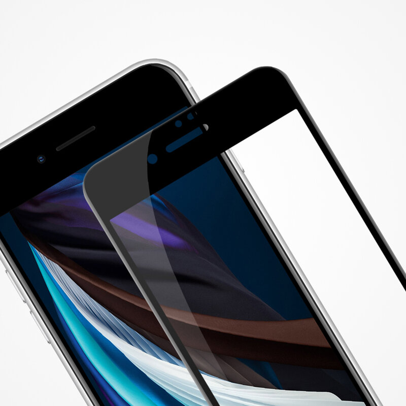 Folie sticla iPhone 7 Nillkin Amazing CP+PRO, Negru