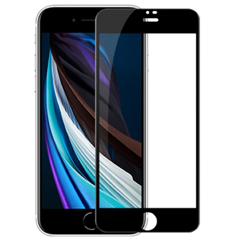 Folie sticla iPhone SE 2, SE 2020 Nillkin Amazing CP+PRO, Negru