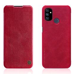 Husa OnePlus Nord N100 Nillkin QIN Leather - Rosu