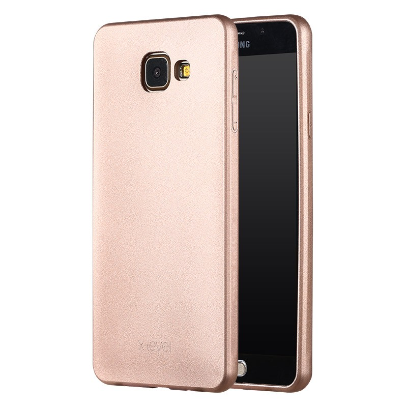 Husa Samsung Galaxy A5, 2016 A510 X-Level Guardian Full Back Cover - Gold