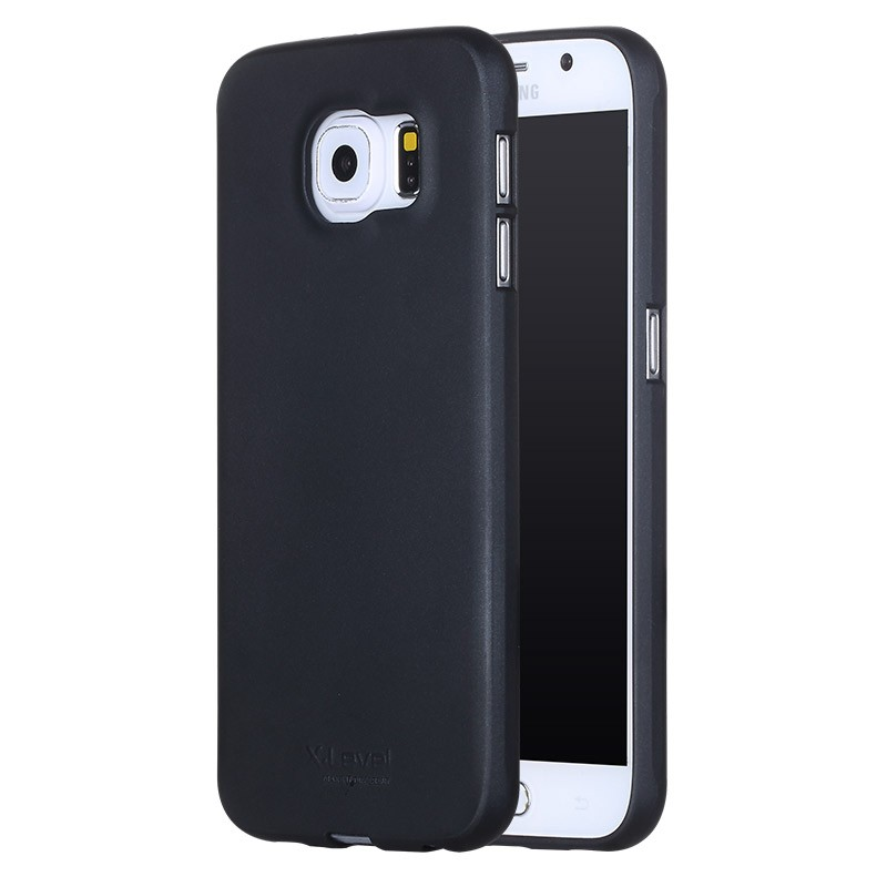 Husa Samsung Galaxy S6 Edge G925 X-Level Guardian Full Back Cover - Black