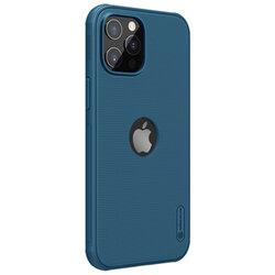 Husa iPhone 12 Pro Max Nillkin Super Frosted Shield, compatibila MagSafe - Blue