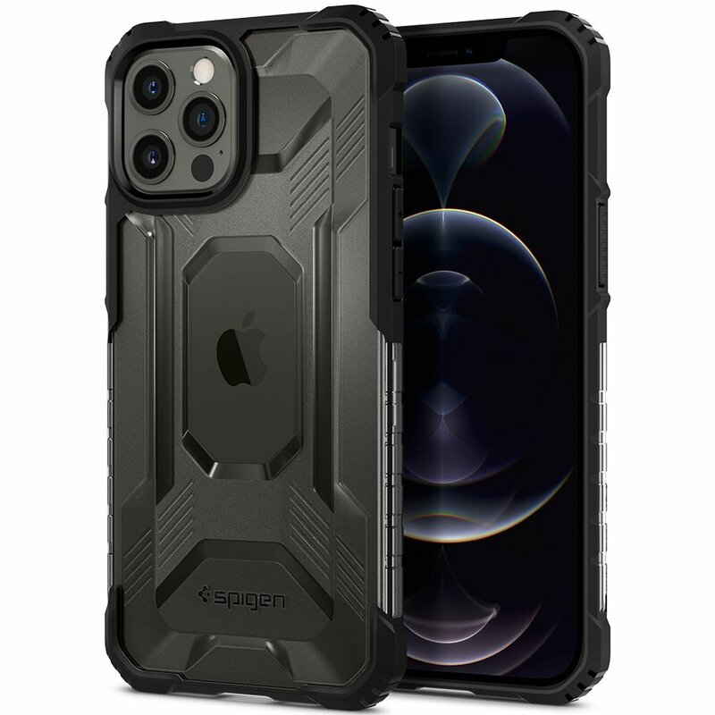 Husa iPhone 12 Pro Max Spigen Nitro Force, negru