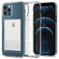 Husa iPhone 12 Pro Spigen Crystal Slot, transparent