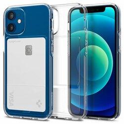 Husa iPhone 12 Spigen Crystal Slot, transparent