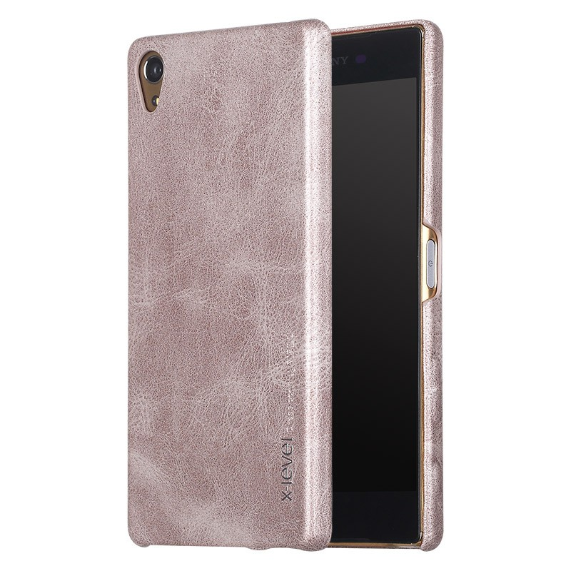 Husa Sony Xperia XA X-Level Vintage Classic Leather - Brown
