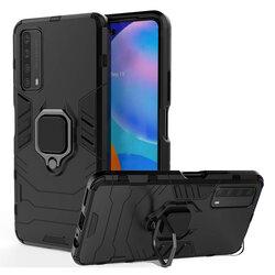 Husa Huawei P Smart 2021 Techsuit Silicone Shield, Negru