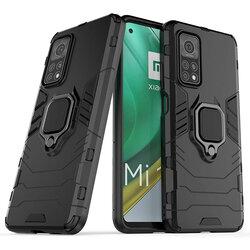 Husa Xiaomi Mi 10T 5G Techsuit Silicone Shield, Negru