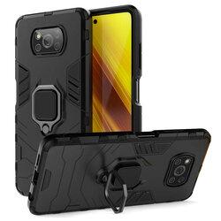 Husa Xiaomi Poco X3 NFC Techsuit Silicone Shield, Negru