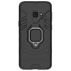 Husa Samsung Galaxy S9 Techsuit Silicone Shield, Negru