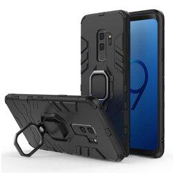 Husa Samsung Galaxy S9 Plus Techsuit Silicone Shield, Negru