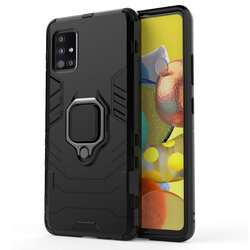 Husa Samsung Galaxy A51 Techsuit Silicone Shield, Negru