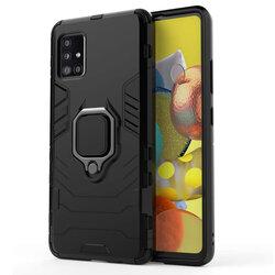 Husa Samsung Galaxy A71 Techsuit Silicone Shield, Negru