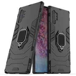 Husa Samsung Galaxy Note 10 Plus Techsuit Silicone Shield, Negru