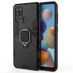 Husa Samsung Galaxy A21s Techsuit Silicone Shield, Negru