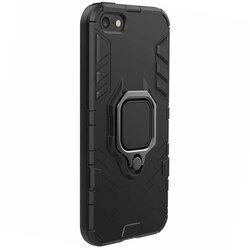 Husa iPhone 8 Techsuit Silicone Shield, Negru