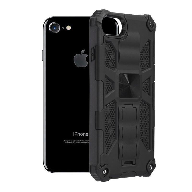 Husa iPhone SE 2, SE 2020 Techsuit Blazor, Negru
