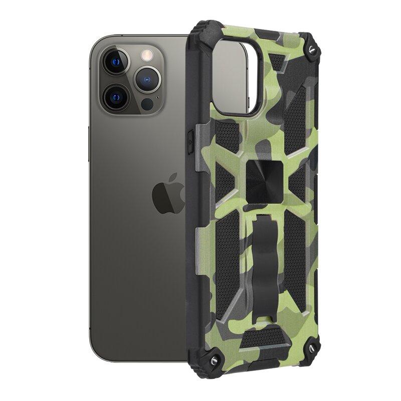 Husa iPhone 12 Pro Max Techsuit Blazor, Camuflaj