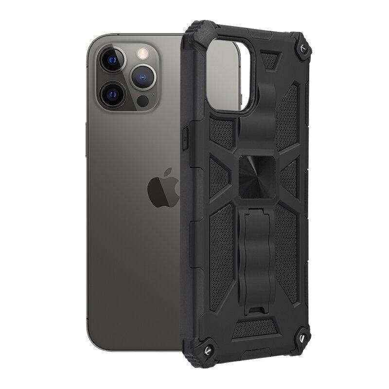Husa iPhone 12 Pro Max Techsuit Blazor, Negru