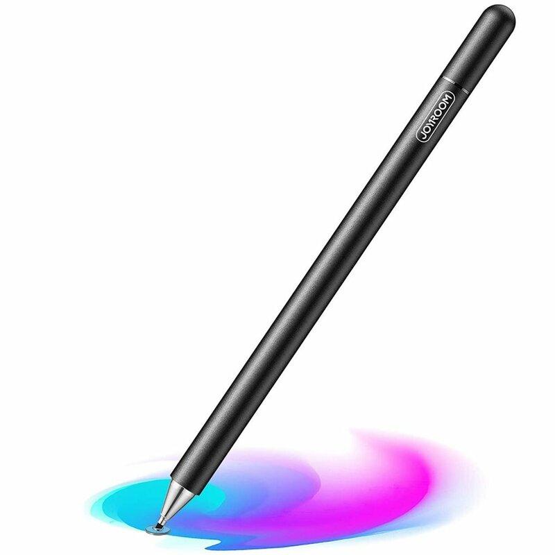 Stylus pen JoyRoom universal, Android, iOS, aluminiu, negru, JR-BP560
