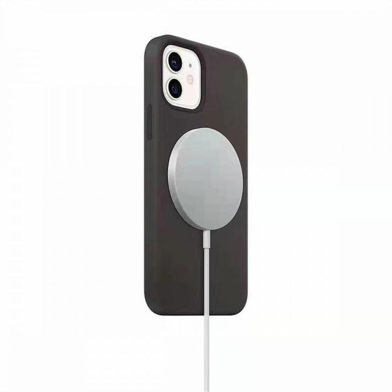 Incarcator iPhone 12 wireless MagSafe JoyRoom JR-A41, 15W, cablu Type-C, alb