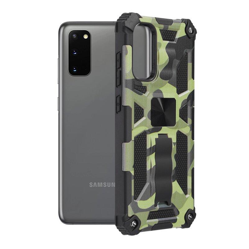 Husa Samsung Galaxy S20 5G Techsuit Blazor, Camuflaj