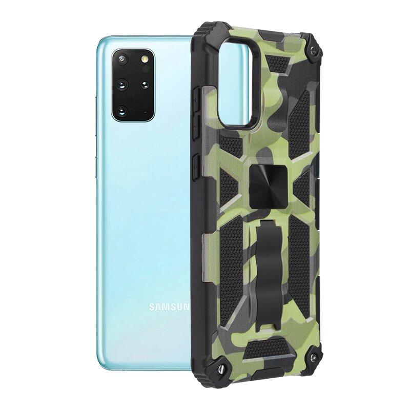 Husa Samsung Galaxy S20 Plus Techsuit Blazor, Camuflaj