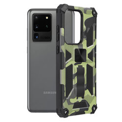 Husa Samsung Galaxy S20 Ultra 5G Techsuit Blazor, Camuflaj
