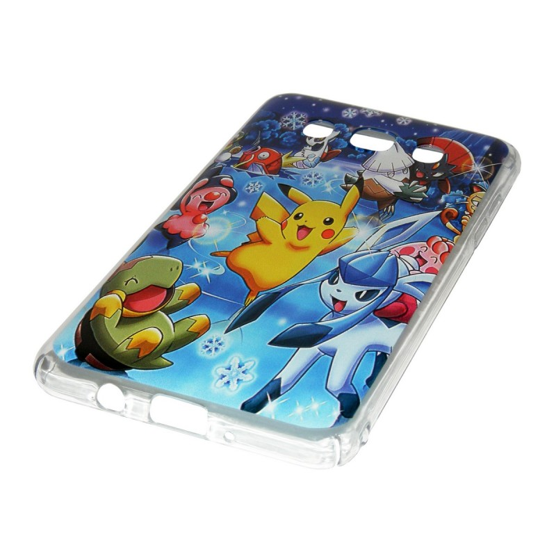 Husa Samsung Galaxy J5 2016 J510 Plastic cu Model Pokemon All Stars