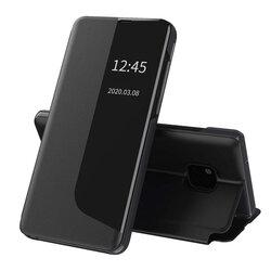 Husa Huawei Mate 20 Pro Eco Leather View Flip Tip Carte - Negru