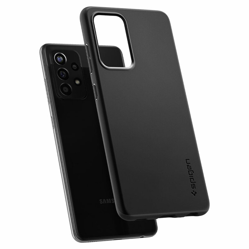 Husa Samsung Galaxy A52 4G Spigen Thin Fit - Black