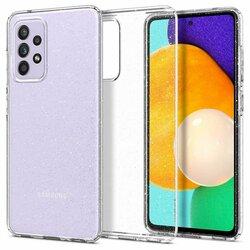 Husa Samsung Galaxy A72 5G Spigen Liquid Crystal - Glitter - Crystal Quartz